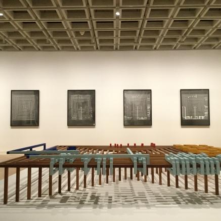 Riet Wijnen Sculptuur Sixteen Conversations on Abstraction: Displayed at Art Gallery of NSW for Sydney Biennale (Photos on framedorfamed.com)